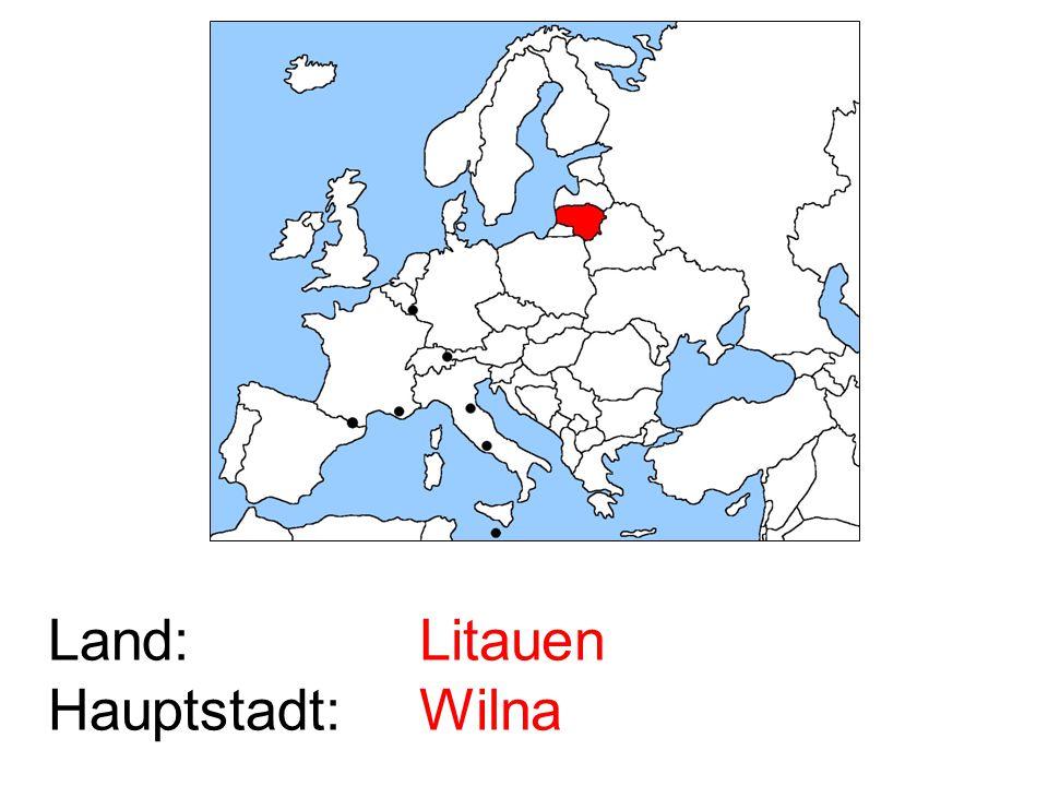 Litauen Wilna