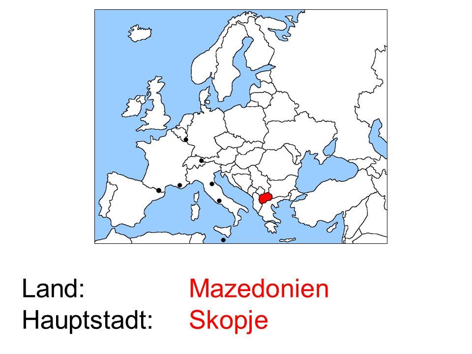 Mazedonien Skopje