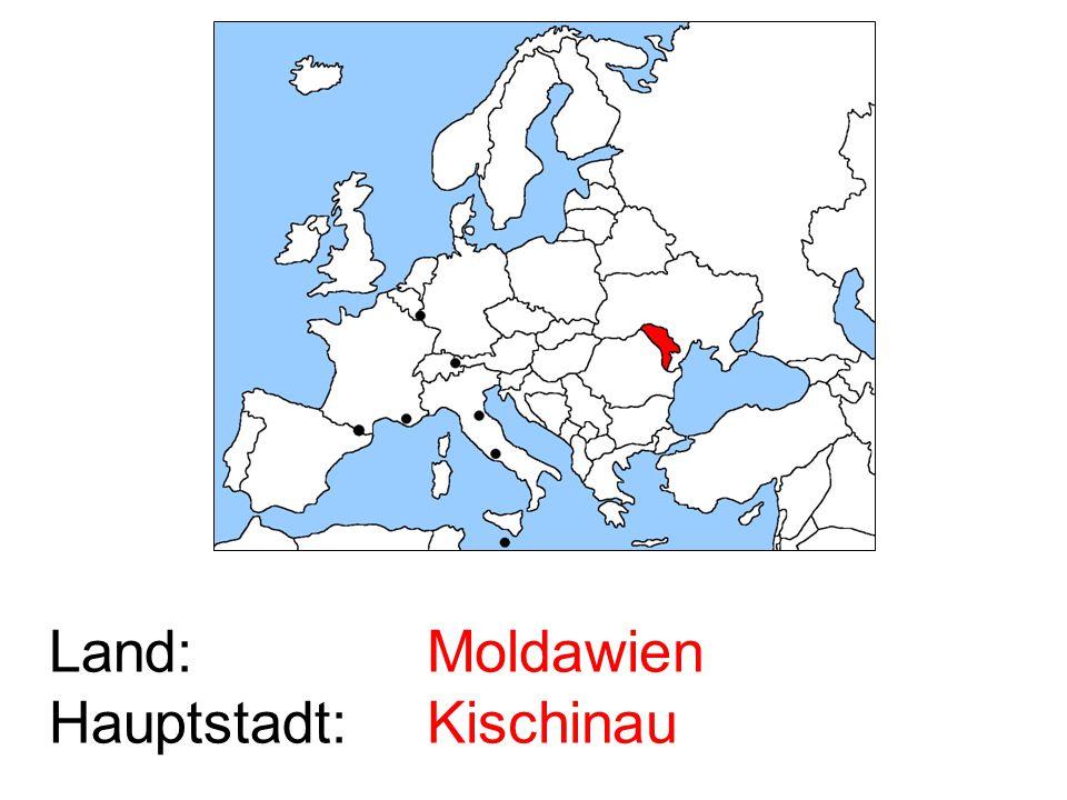 Moldawien Kischinau