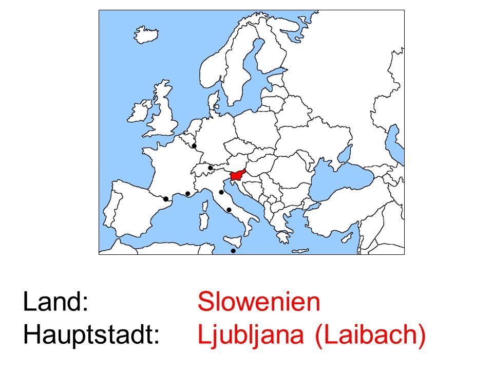 Slowenien Ljubljana (Laibach)