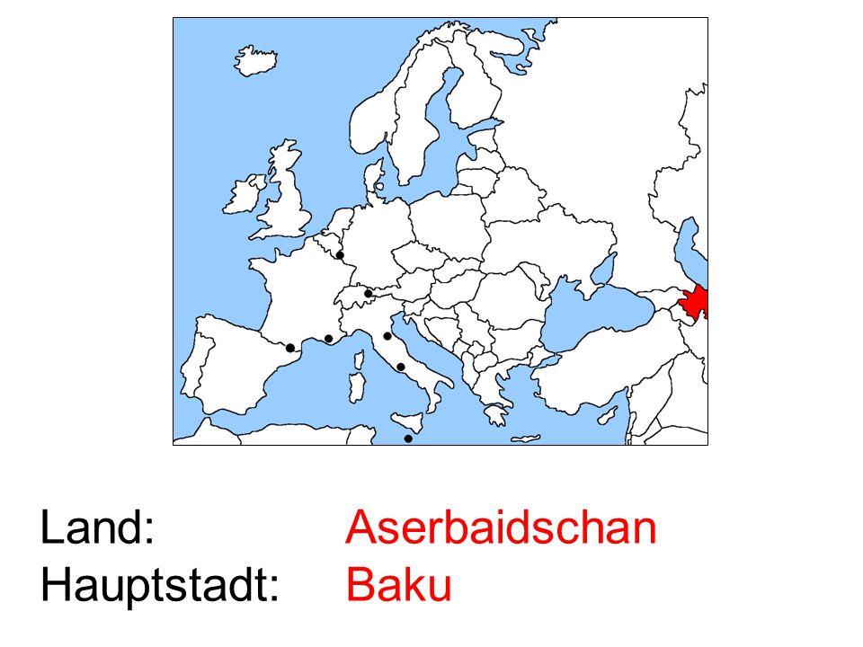 Aserbaidschan Baku