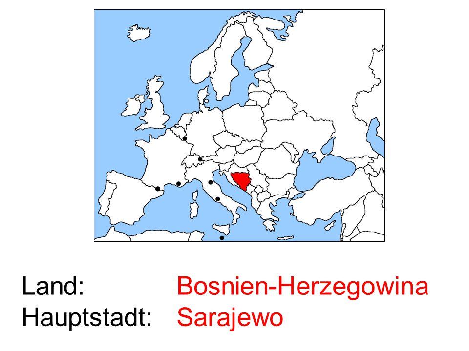 Bosnien-Herzegowina Sarajewo