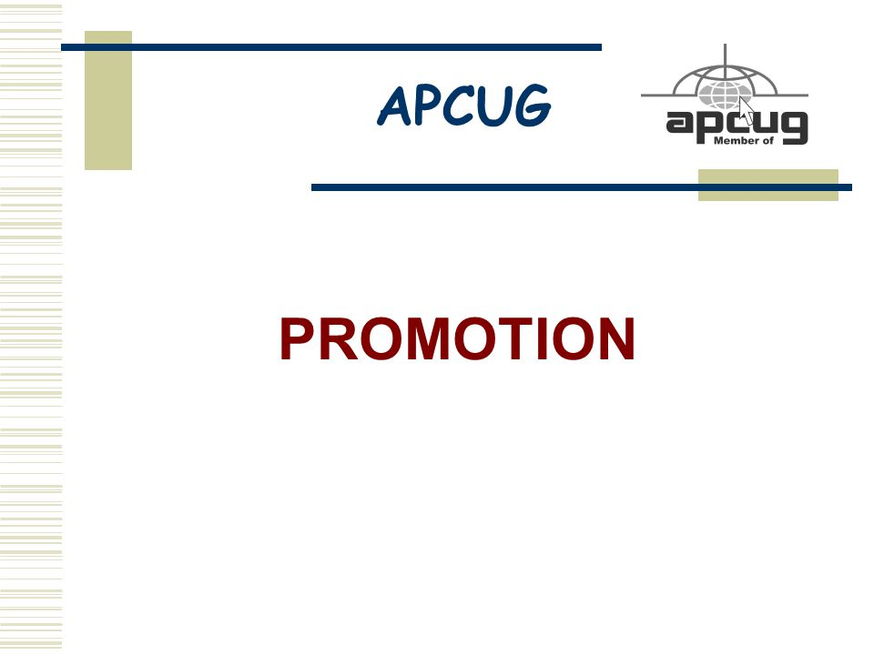 APCUG PROMOTION