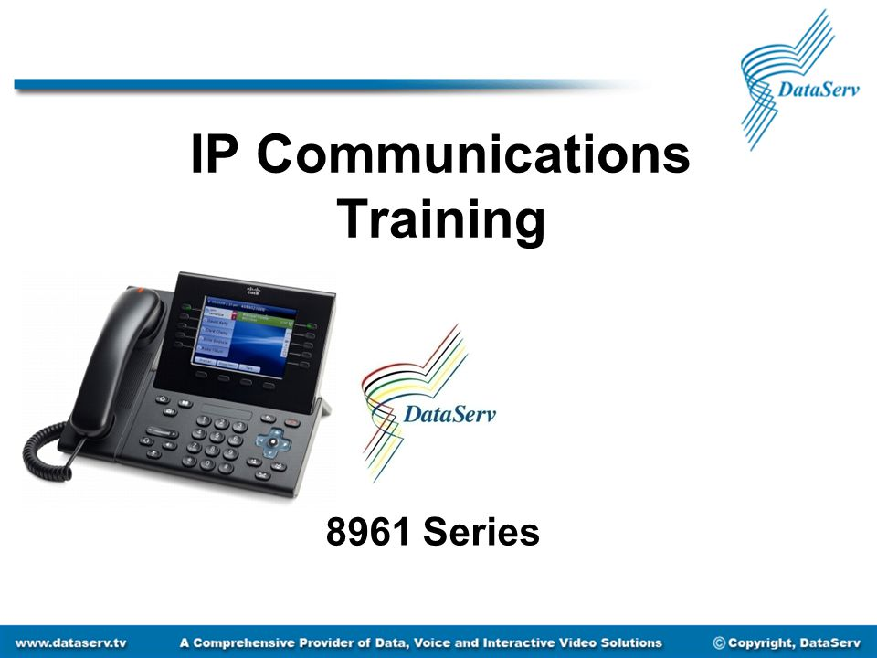 IP Communications Training 8961 Series
