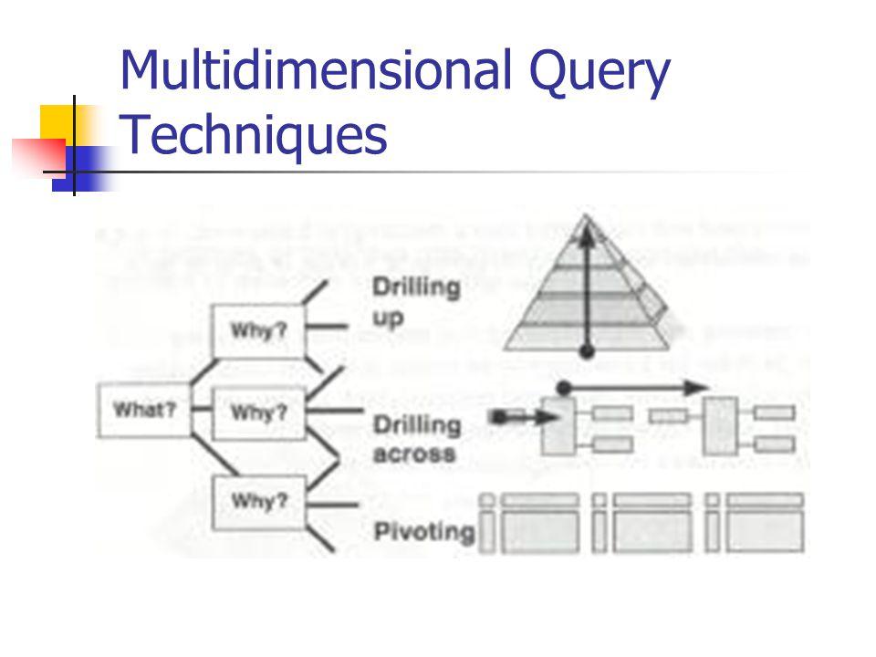 Multidimensional Query Techniques