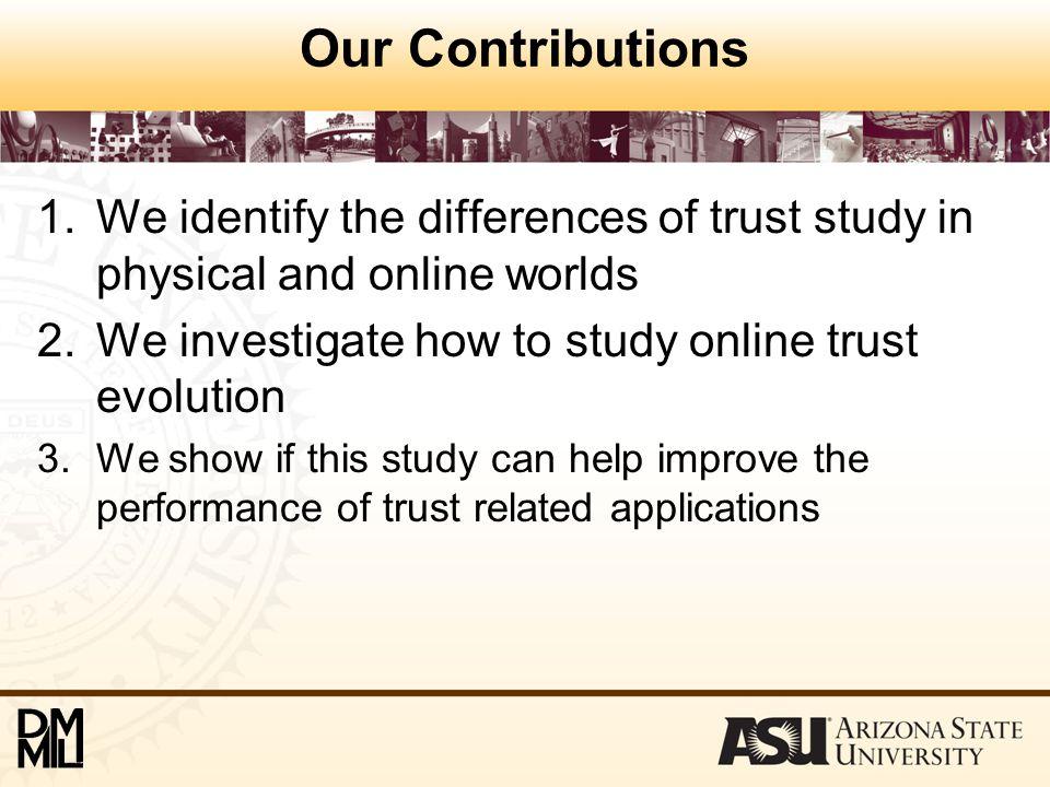 Comparison of Trust Prediction