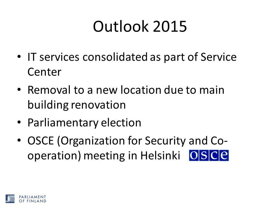 Service Center goals + Better Service