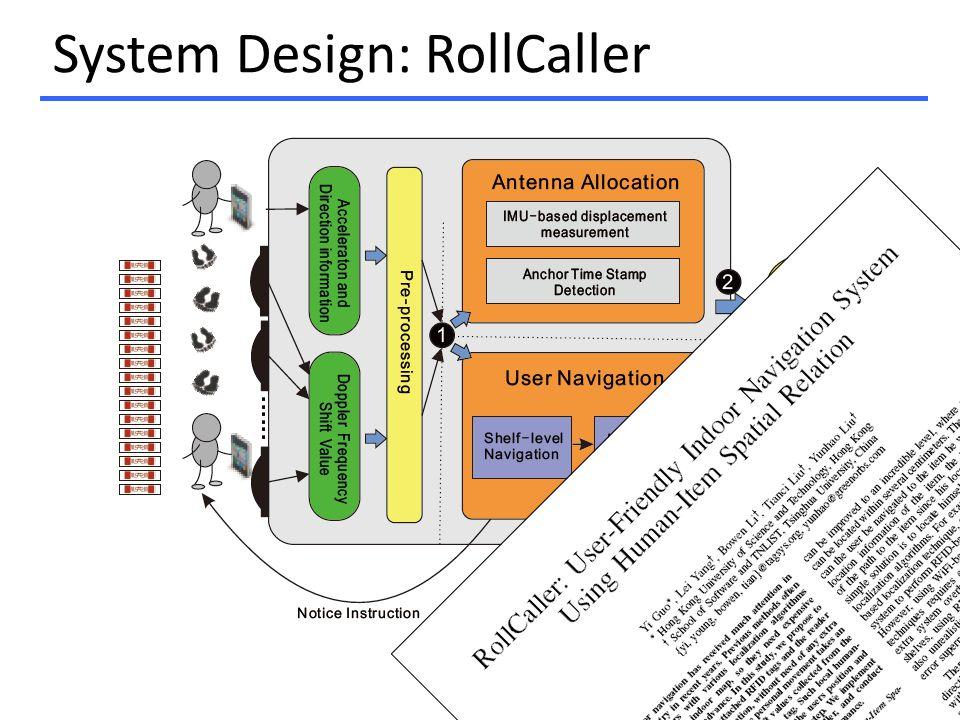 System Design: RollCaller 27
