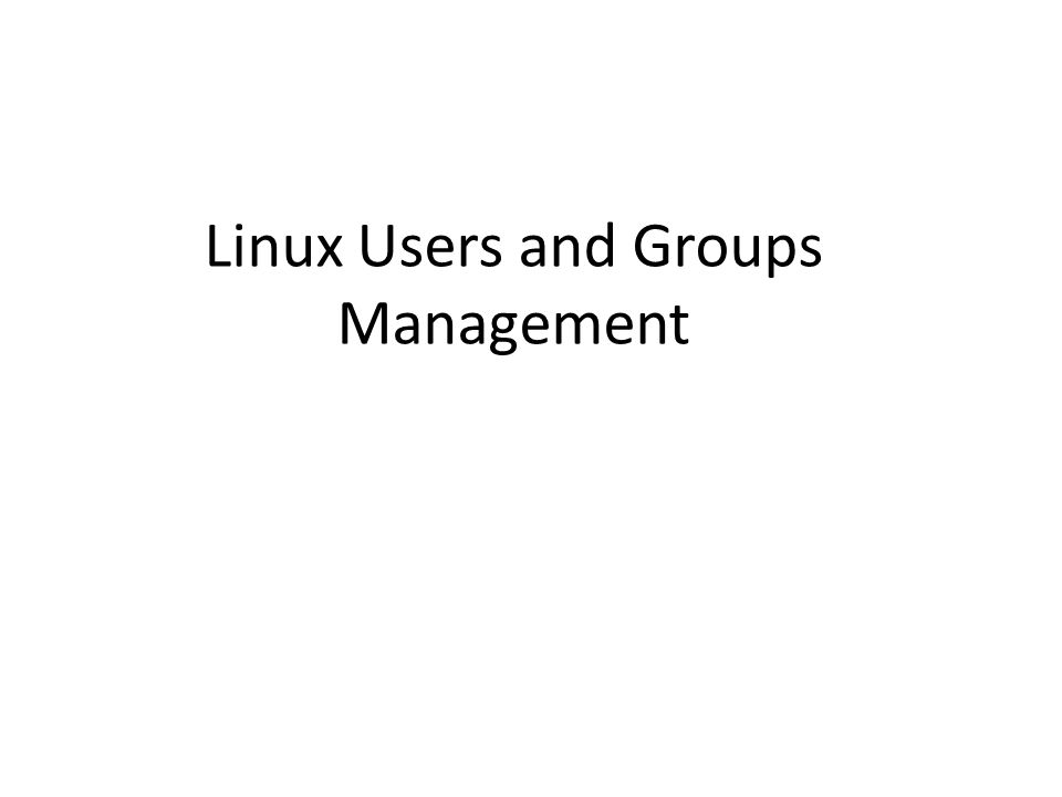 Introduction Ubuntu Linux uses groups to help you manage users, set permissions on those users, and even monitor how much time they are spending in front of the PC.