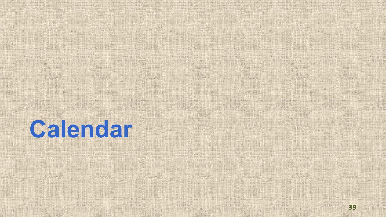 Calendar 39