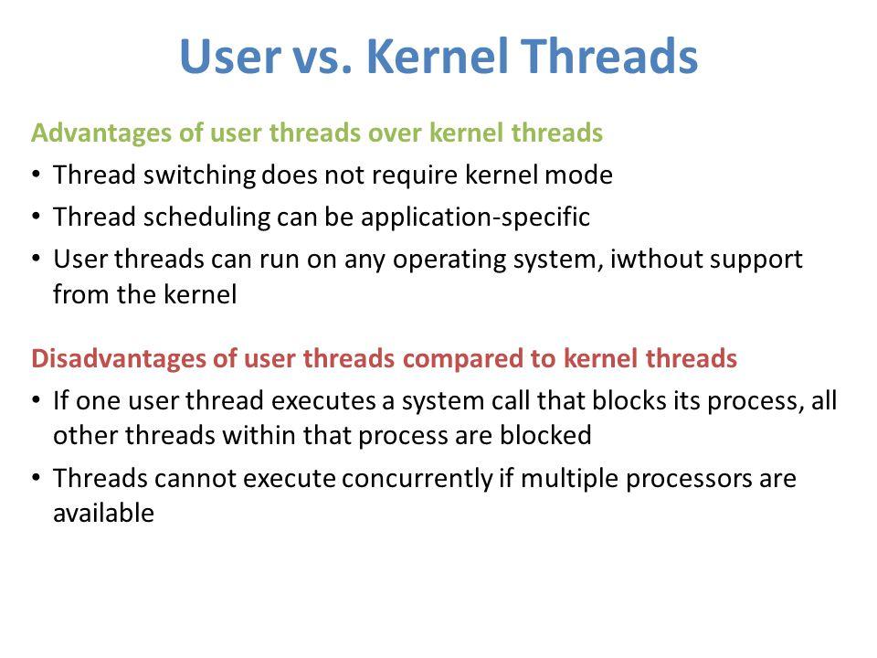 User vs.