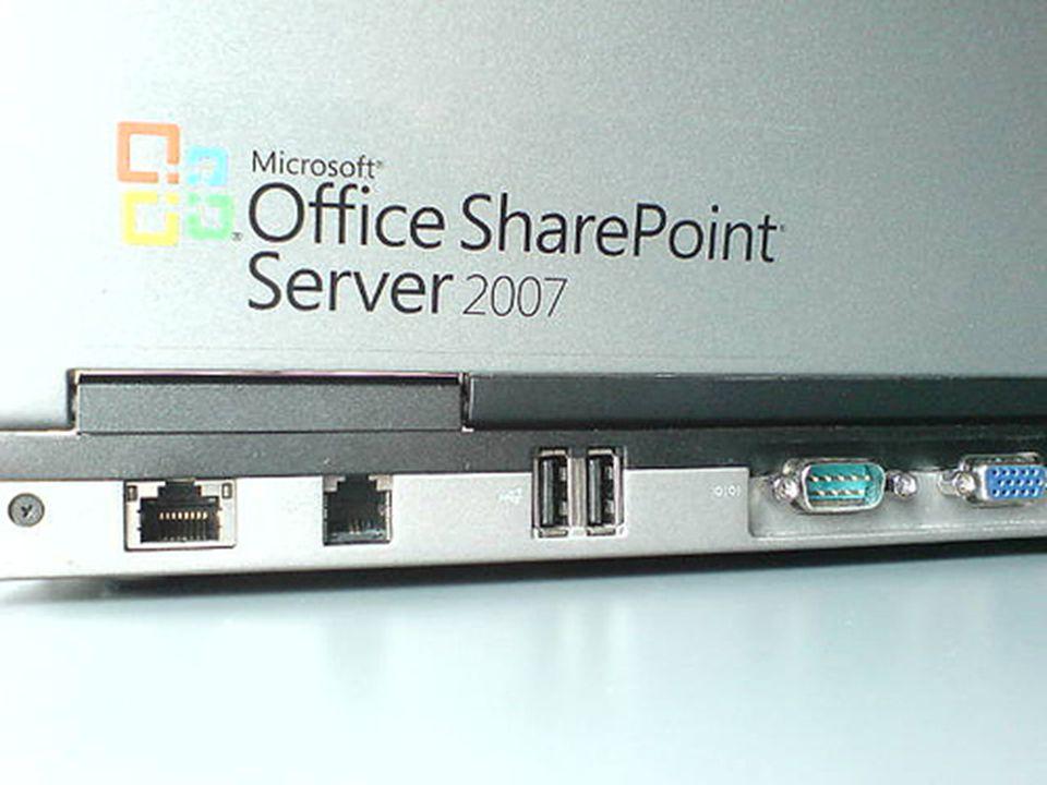 WSS 3.0 and SharePoint Server 2007 SharePoint Server 2007 Enterprise SharePoint Server 2007 Standard Windows SharePoint Services 3.0 Platform & Collaboration (blogs & wikis) Doc Management, Web Content Management, Search, & Portals Web Forms, Excel Services, BDC