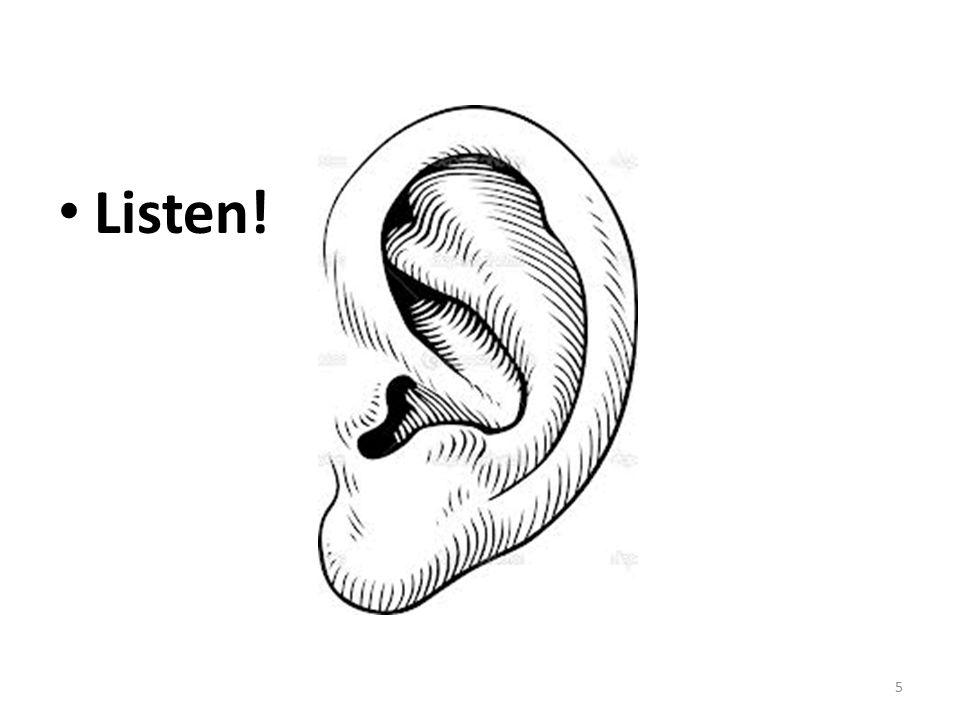5 Listen!