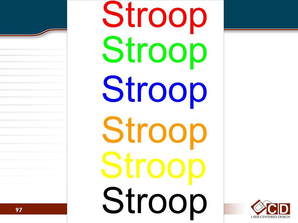 Stroop 97