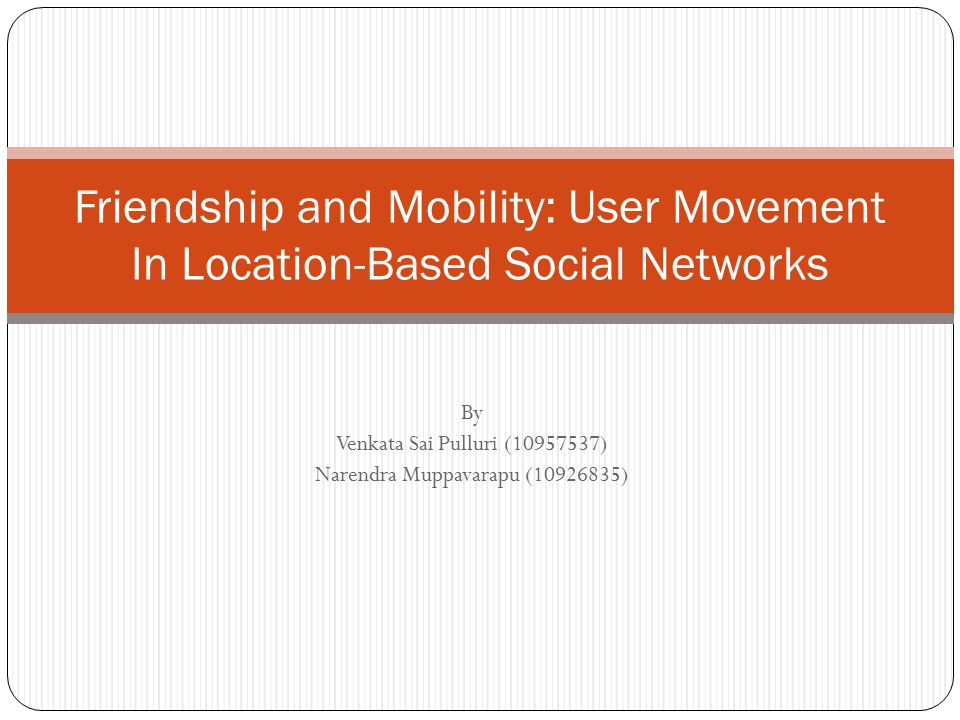 Limits of using friendship for predicting mobility Observations shows strong correspondence between trajectory similarity of users and probability of friendship, in general only a small fraction of users have high overlap in check-ins with their friends.