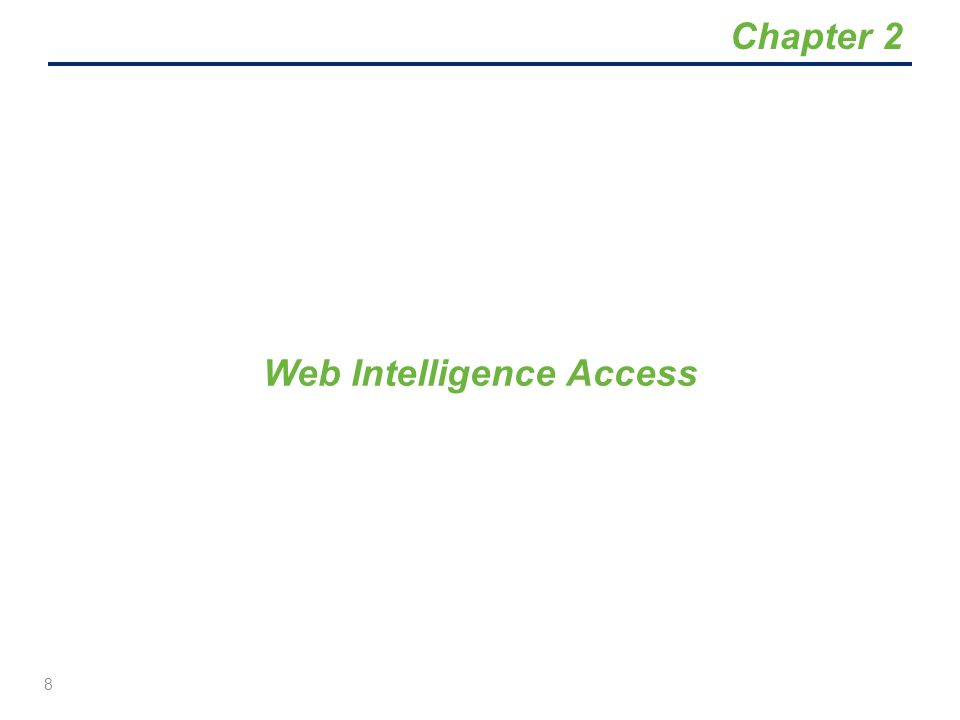 Web Intelligence customers must have online access either through the State Governmental Network (SGN) or through Secure Access WA (SAW) for use from outside of the state firewall.