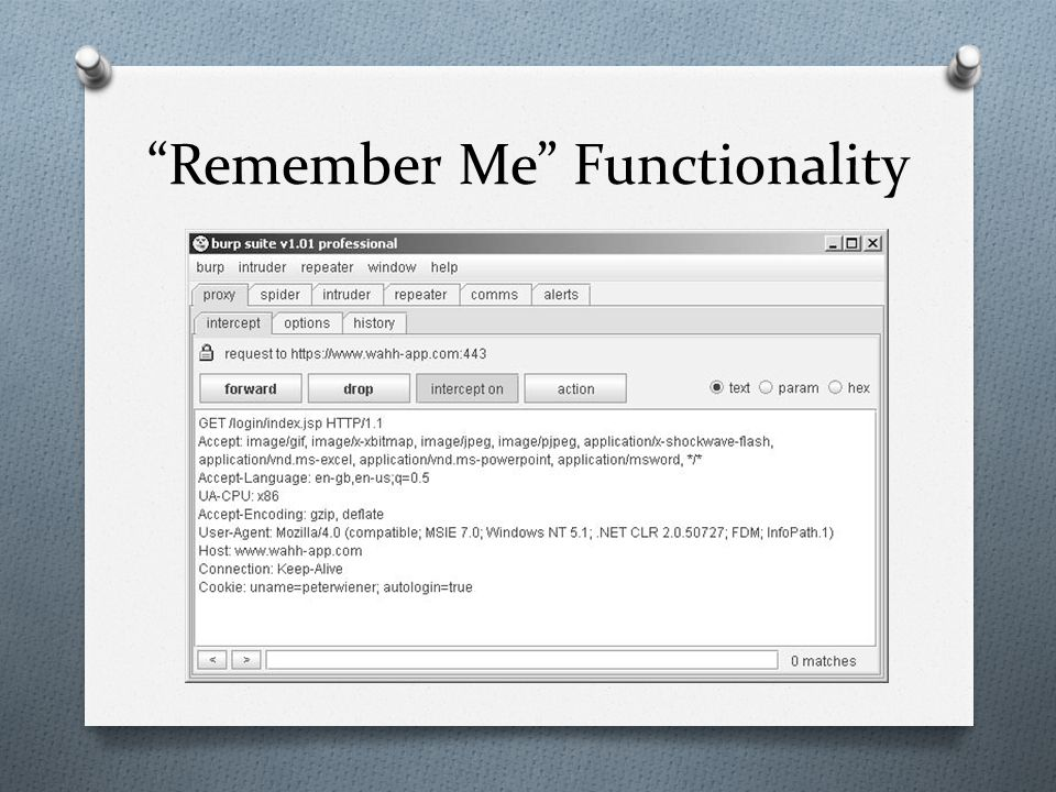 """""""Remember Me"""" Functionality"""