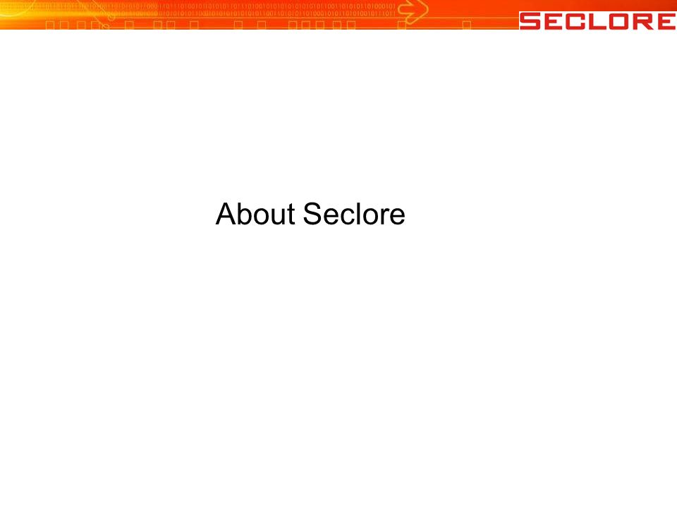 About Seclore