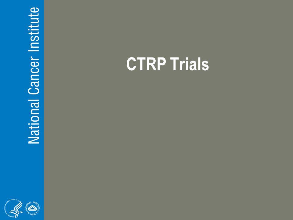 CTRP Trials