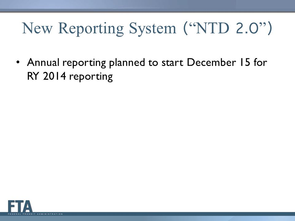 CEO and NTD Contact Required LSUM should create CEO and NTD users – Required for report kick-off