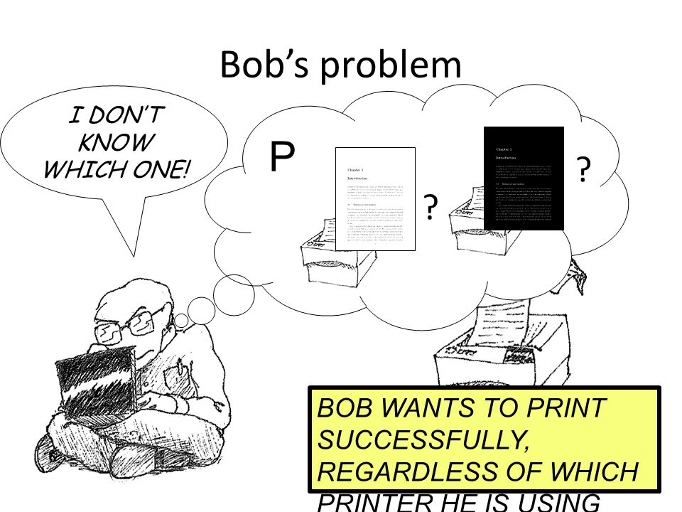 Bob's problem . I DON'T KNOW WHICH ONE.