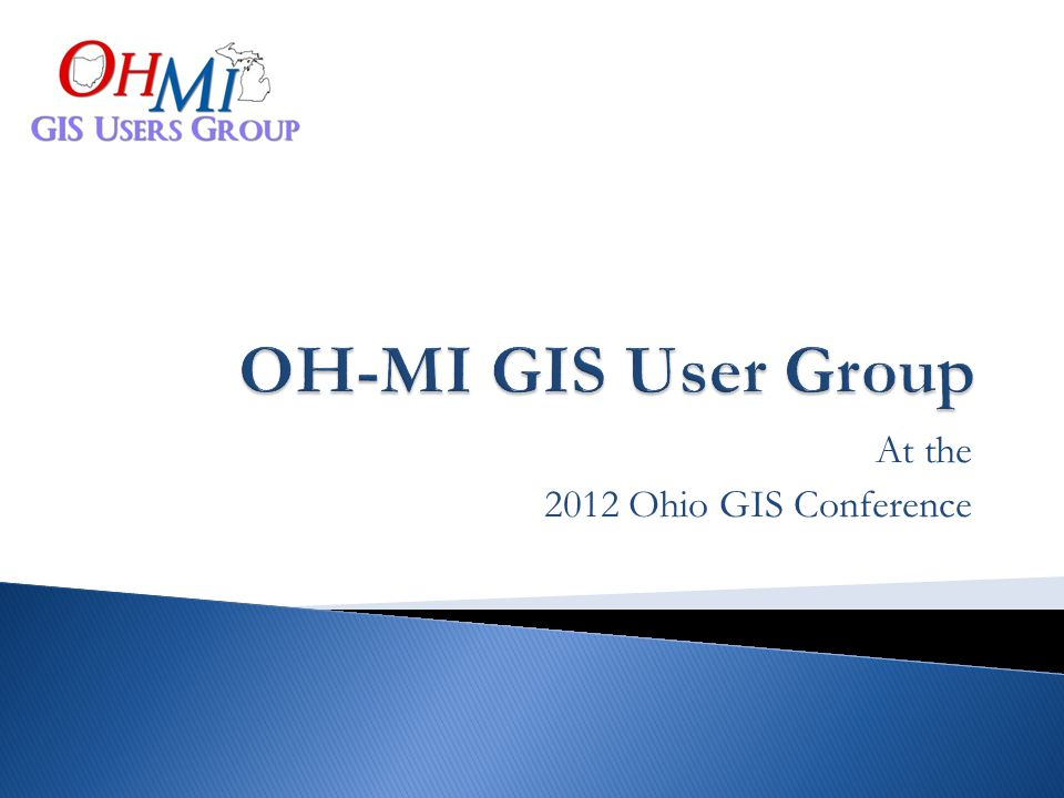 At the 2012 Ohio GIS Conference