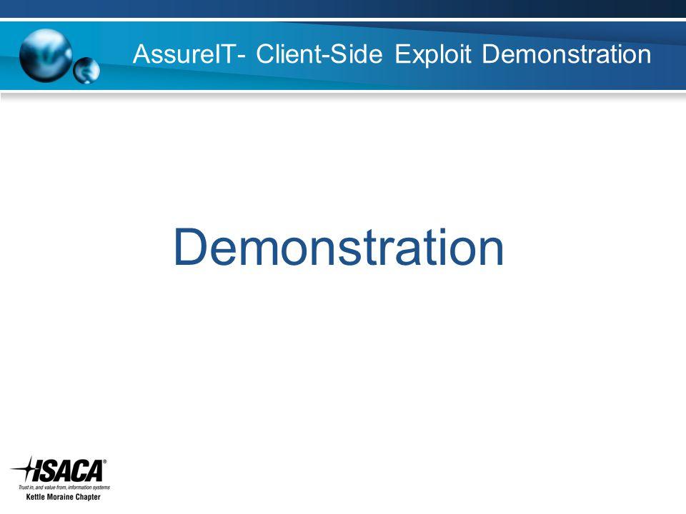 AssureIT- Client-Side Exploit Demonstration Demonstration
