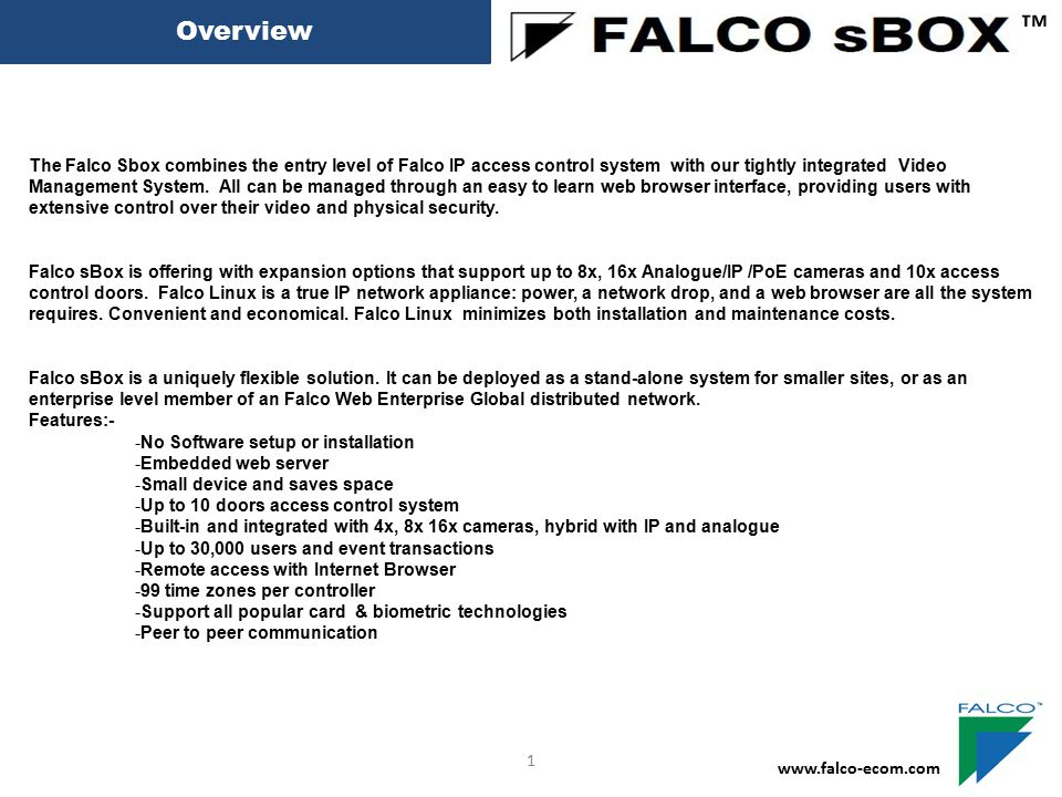 Backup ™ www.falco-ecom.com 31 Choose backup Interval Example every First of month Choose How Many Month Database want to keep on the hard disk Choose what time hour Auto backup Started Note: This Auto Backup Function Will maintain your database for better system performance