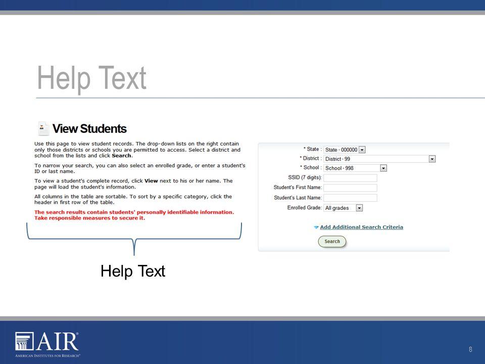 Help Text 8