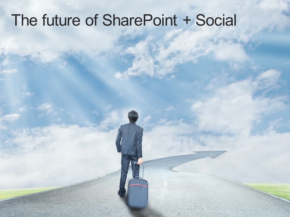 The future of SharePoint + Social