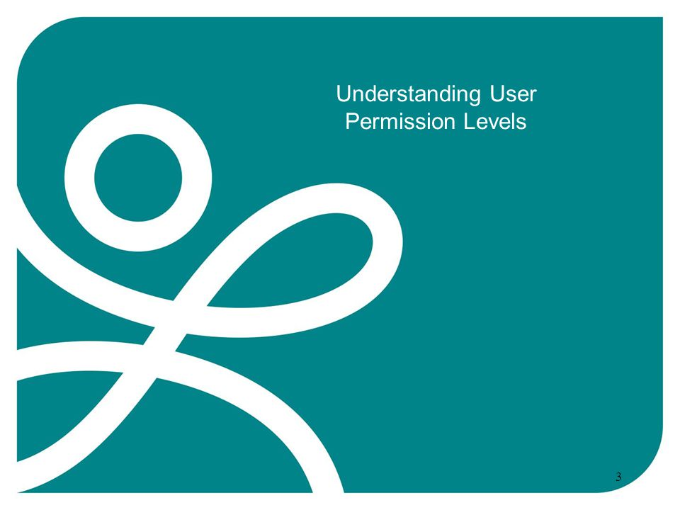 Understanding User Permission Levels 3