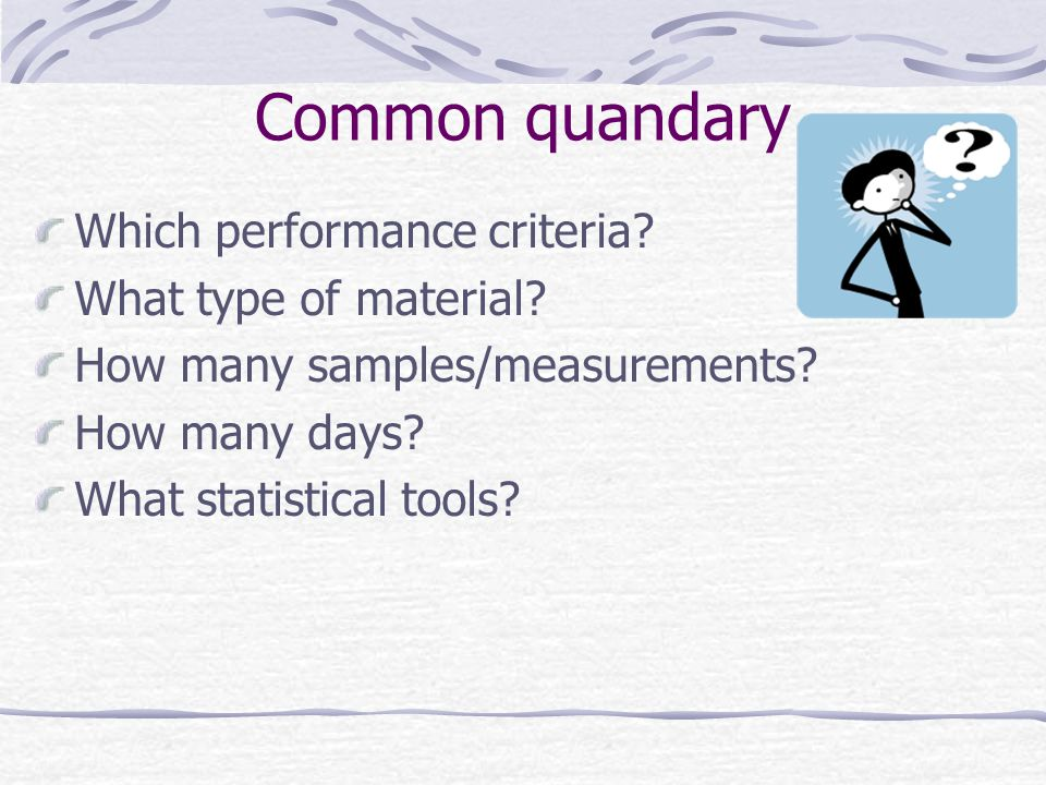 Bias: Patient comparison How many measurements.20 patient samples How many days.