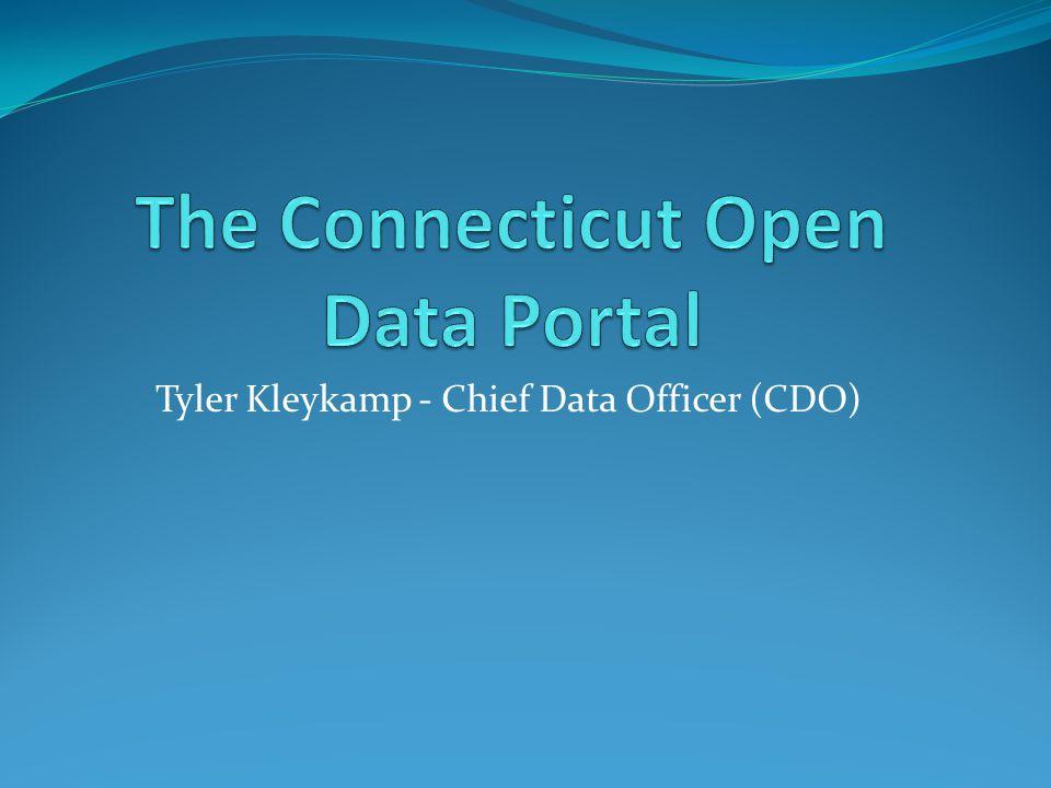 Tyler Kleykamp - Chief Data Officer (CDO)
