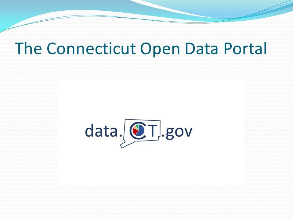The Connecticut Open Data Portal