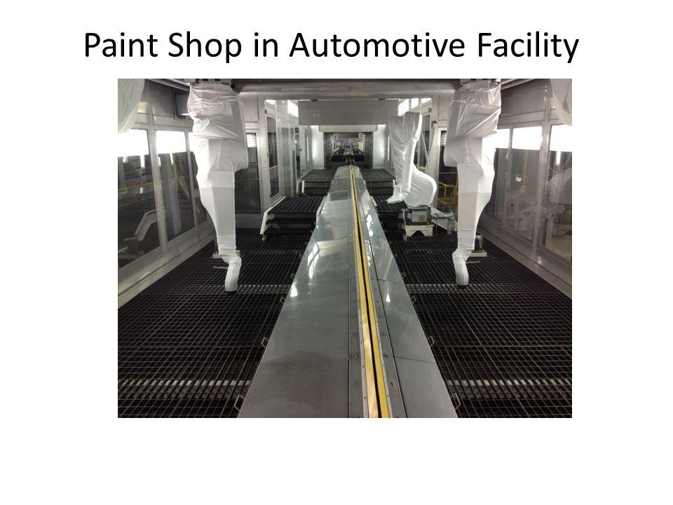 Paint Shop in Automotive Facility