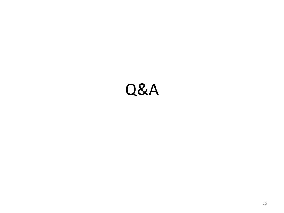 Q&A 25