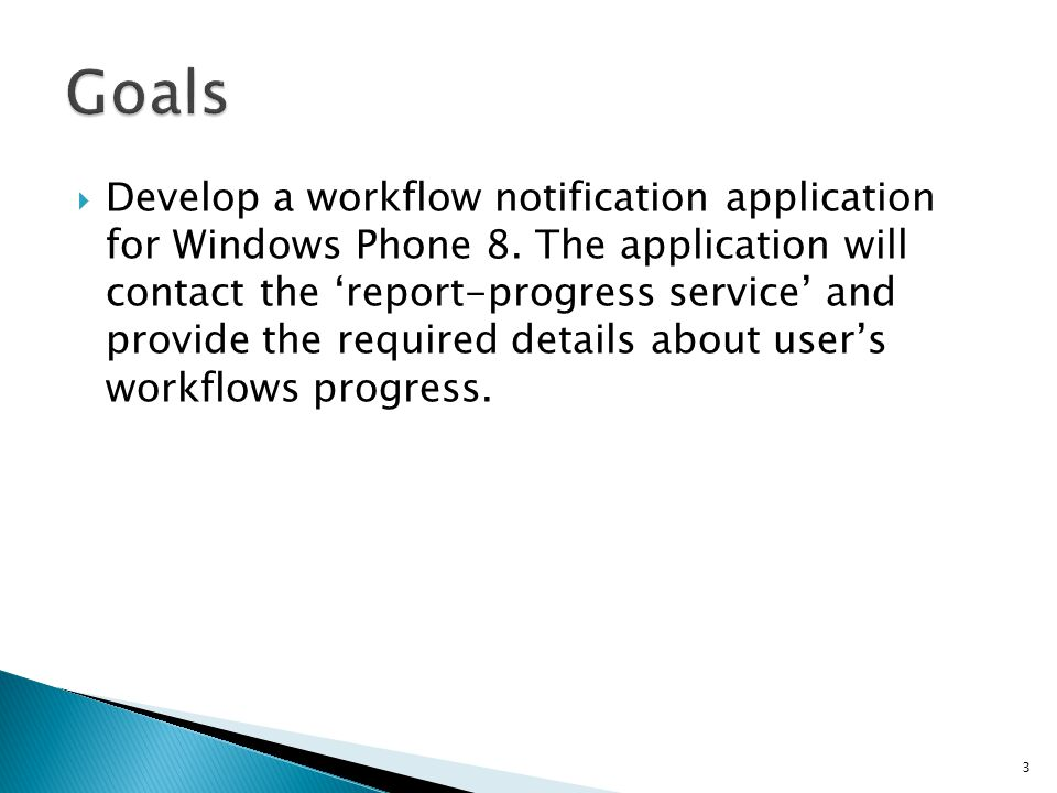  Develop a workflow notification application for Windows Phone 8.