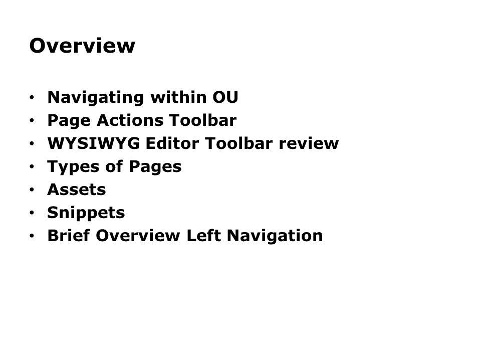 Steps to create a new Custom Left Nav 13