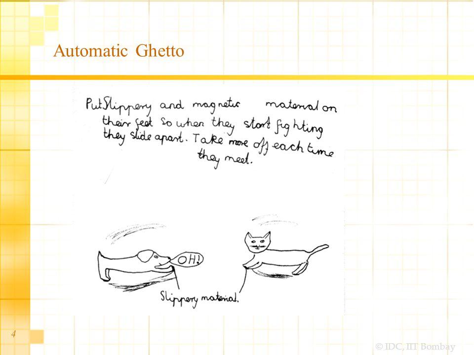 © IDC, IIT Bombay 35 Skeleton  Interface design –Interface, widgets, controls –Tasks-flows / actions