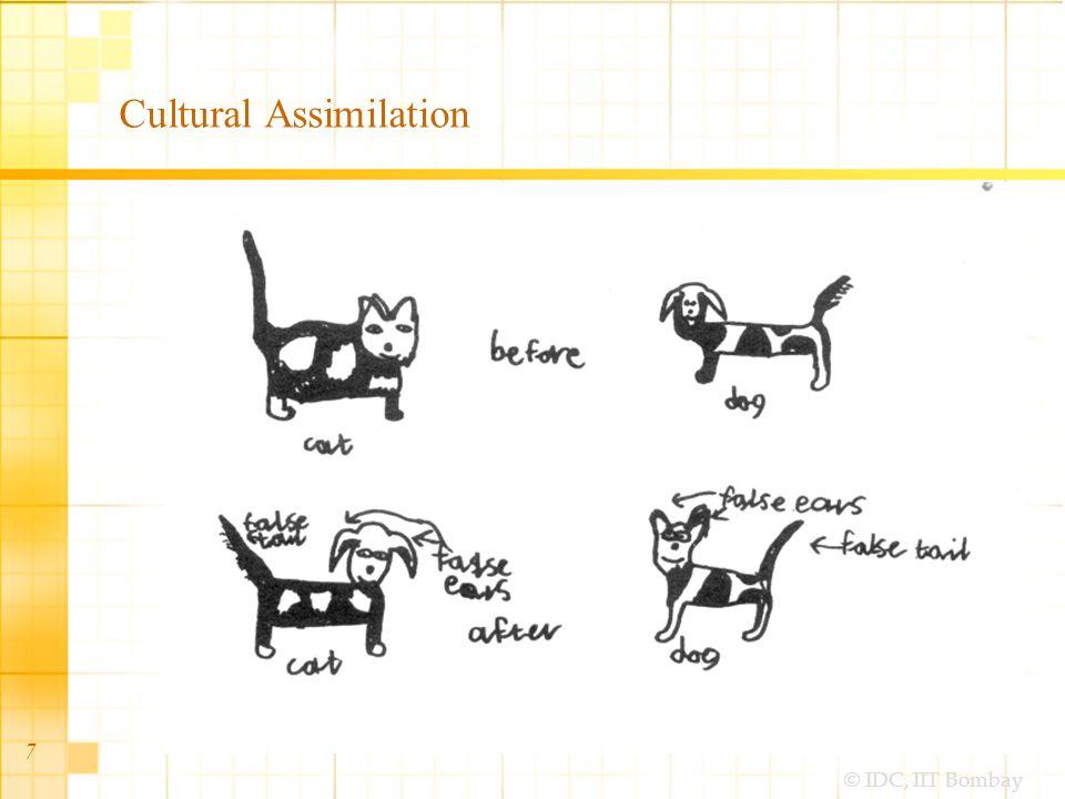 © IDC, IIT Bombay 8 Gradual Cultural Assimilation