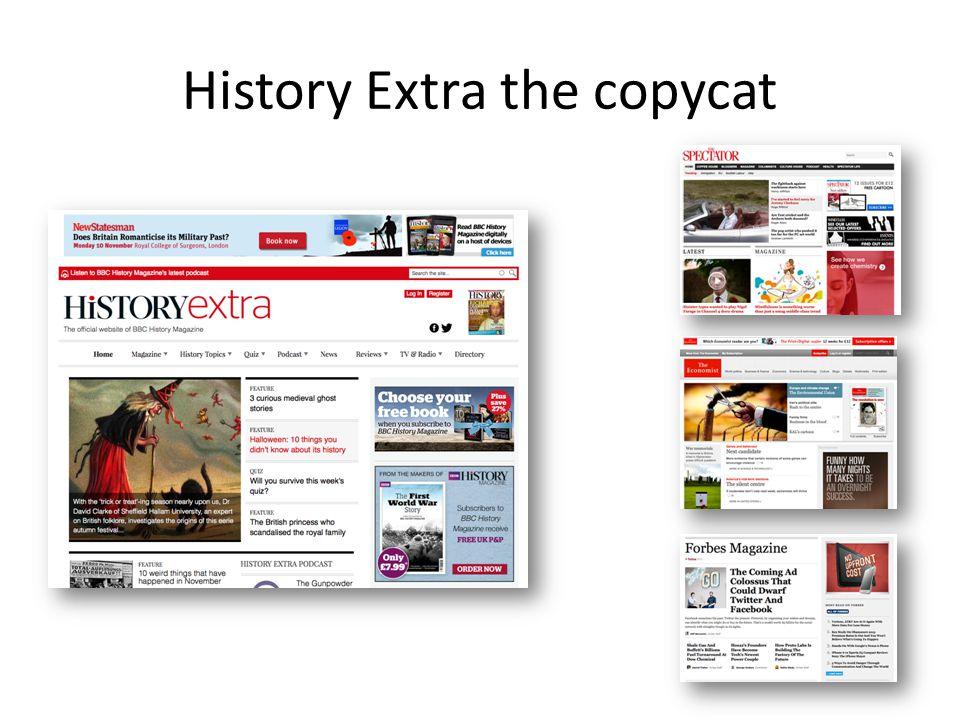 History Extra the copycat