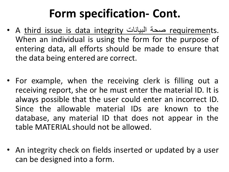 Implementing a single table form Tailoring a Default Form: Form design view