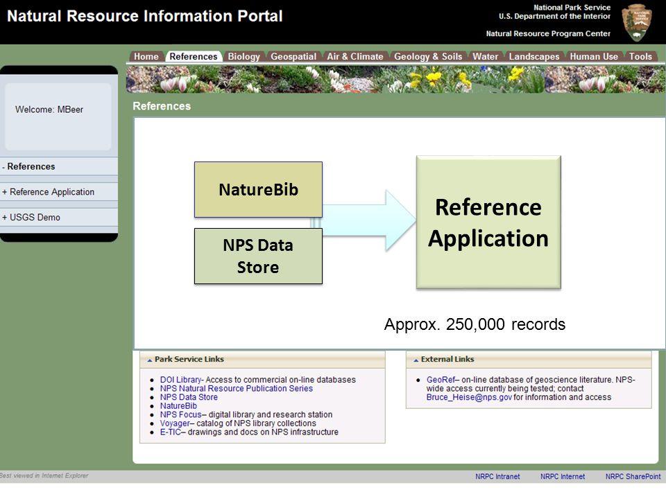 Natural Resource Program Center Inventory & Monitoring Program NBII: can integrate NPS data into its portal next year