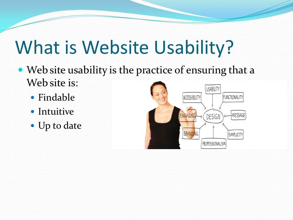 What is Website Usability.