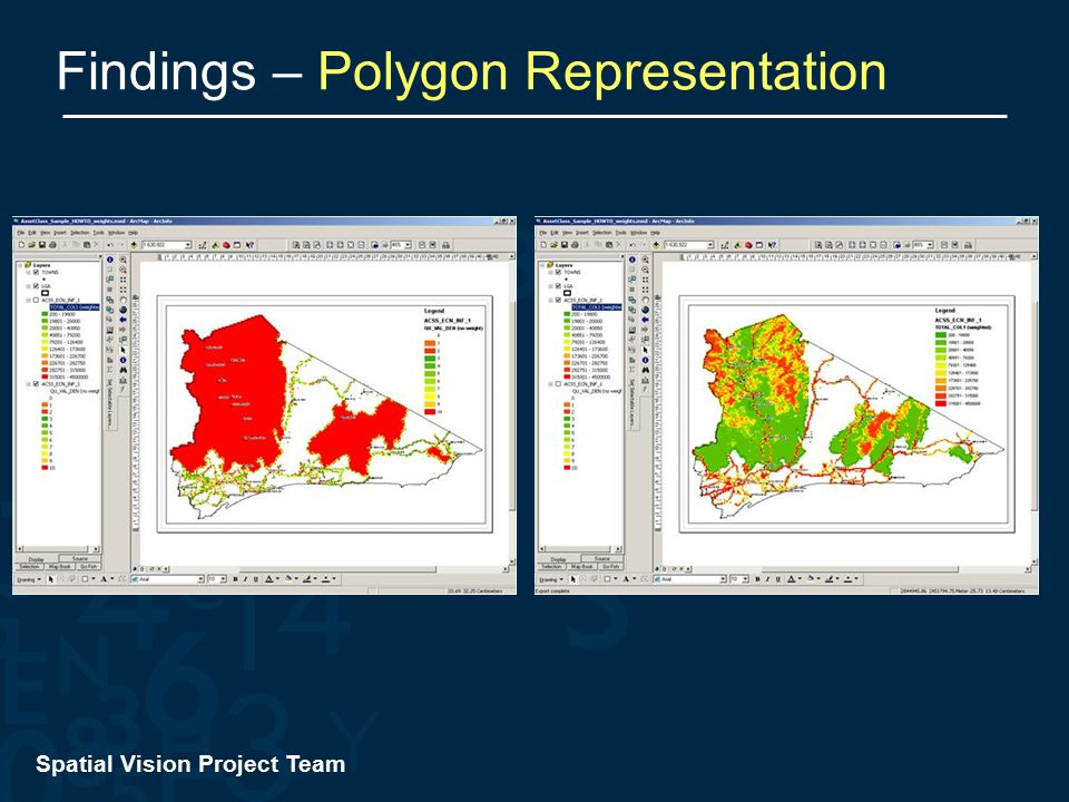 Spatial Vision Project Team Findings – Polygon Representation