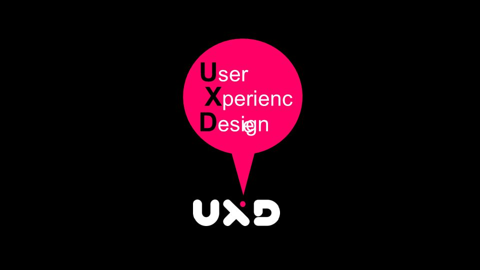 The bubbles are the things that we think about, talk about and create at UX Design labs