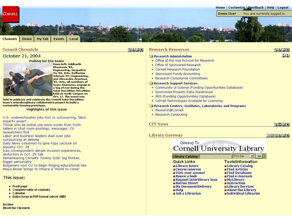 Institutional - Cornell University