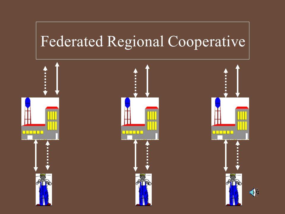 Federated Regional Cooperative