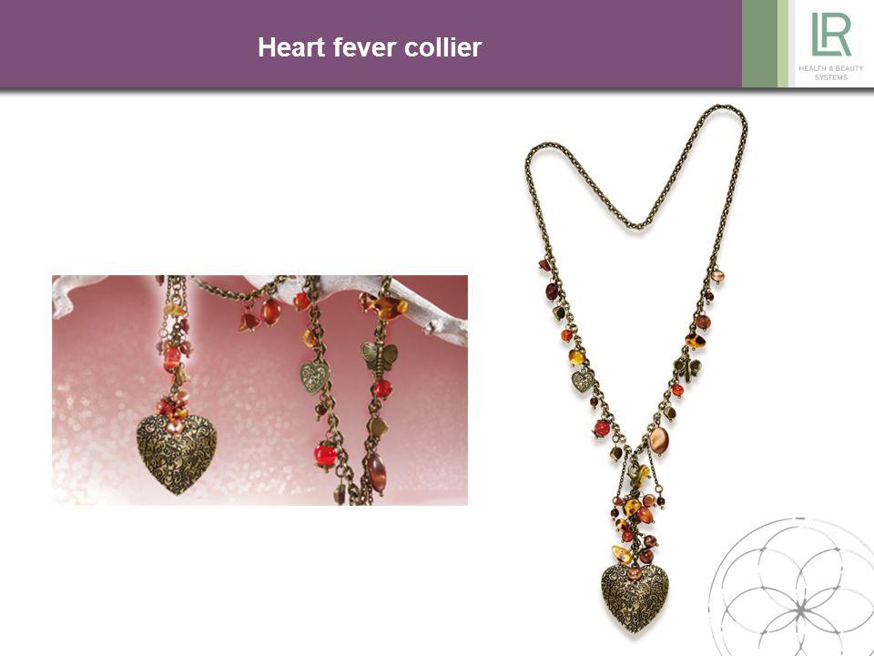 Heart fever collier