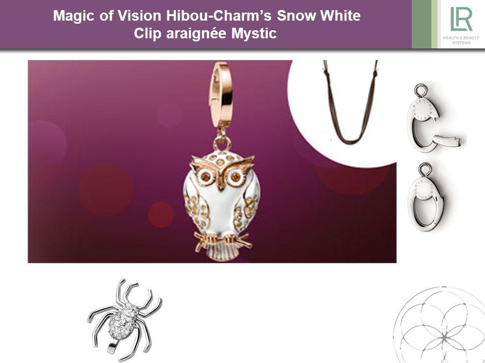 Magic of Vision Hibou-Charm's Snow White Clip araignée Mystic